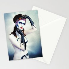 Queen of hearts full Stationery Cards