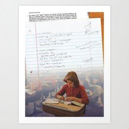 I've Learned; [Dear Capitalist Scum] Art Print