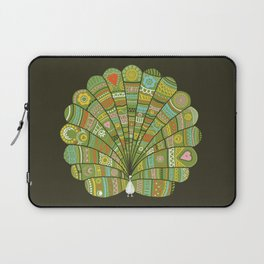 Peacock at Dawn Laptop Sleeve