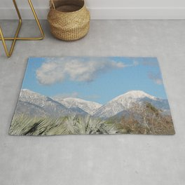 From Chaparral To Snow Rug