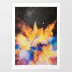 Lovebomb Art Print