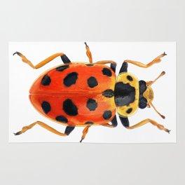 Orange Beetle Rug