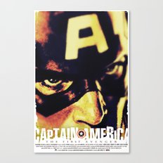 Captain America: The First Avenger Canvas Print