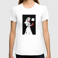 bride T-shirts featuring Bride by Andrew Mar