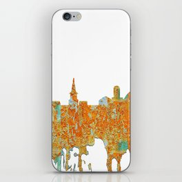 Alexandria, Virginia Skyline - Rust iPhone Skin