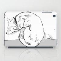 shiba inu iPad Cases featuring Shiba Inu by Cassandra Jean