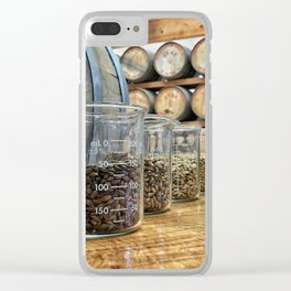 Line it up fellas Clear iPhone Case