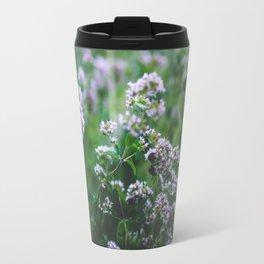 Blooming Oregano Travel Mug