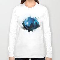 mega man Long Sleeve T-shirts featuring Mega Man by Head Glitch
