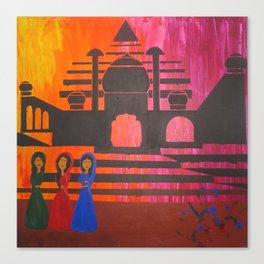Indian Sunset Canvas Print