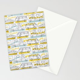Wanderlust on the road Stationery Cards