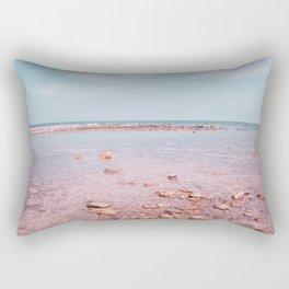 Beach landscape Rectangular Pillow