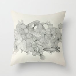 Embrace your randomness Throw Pillow