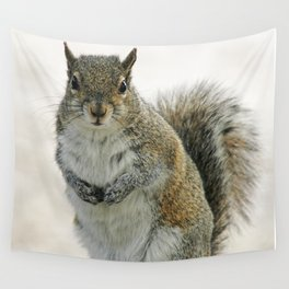 Gray Squirrel Wall Tapestry