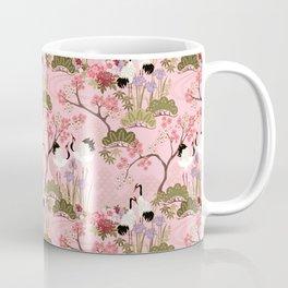 Japanese Garden in Pink Coffee Mug