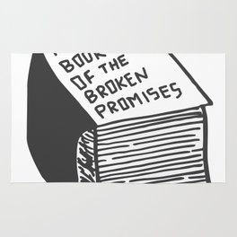 The Book of the Broken Promises Rug