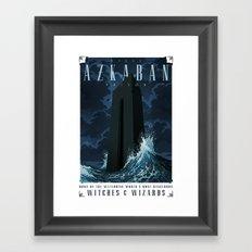 Visit Azkaban Prison Framed Art Print