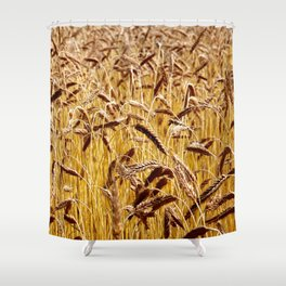 High grain image Shower Curtain