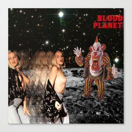 Blood Planet Canvas Print