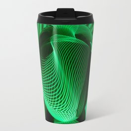 Green in the glass ball Travel Mug