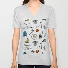 Lord of the pattern Unisex V-Neck