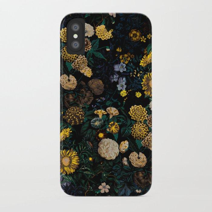 EXOTIC GARDEN - NIGHT II iPhone Case
