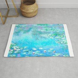 Monet Water Lillies Remix Rug