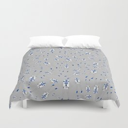 Girl R2-D2 Pattern Duvet Cover