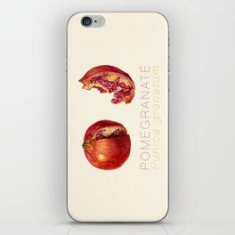 Pomegranate, Punica granatum iPhone Skin