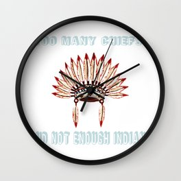 Too many chiefs and n Wall Clock