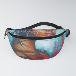 Black widow Fanny Pack