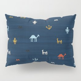 Jarmo in Blue Pillow Sham