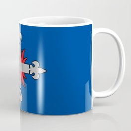 Three Musketeers Uniform Logo Coffee Mug