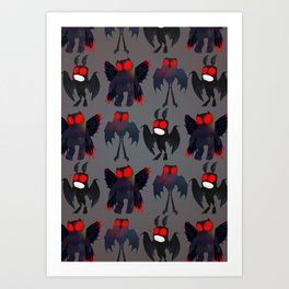 Mothman Mayhem Art Print