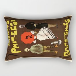 Belle Epoque vintage poster, Abbotts-Phit-Eesi Rectangular Pillow