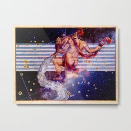 Aquarius - Uranometria Collection Metal Print