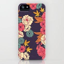 Jungle Pattern 006 iPhone Case