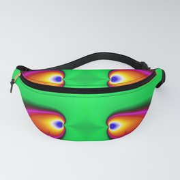 Psychedelic Eyes Abstract Fanny Pack