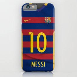Barcelona Messi iPhone Case