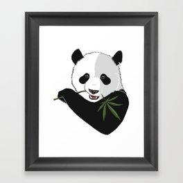 Save The Panda Framed Art Print