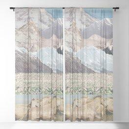 Washes Sheer Curtain