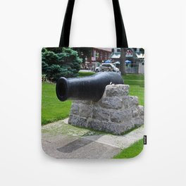 Put-in-Bay Cannon I Tote Bag