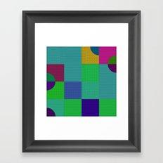 b 1 1 1 - b 2 2 2 Framed Art Print