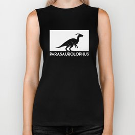 Parasaurolophus Dinosaur Biker Tank