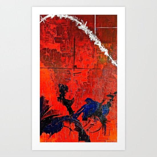 Downfall #3 Art Print