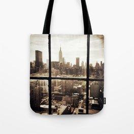 i love NY vintage Tote Bag