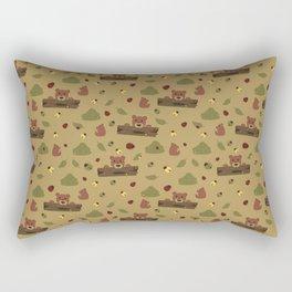 Bears and Beetles  Rectangular Pillow