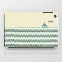 sailboat iPad Cases featuring SailBoat by Jeremy Lobdell