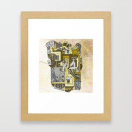 dream home #3 Framed Art Print