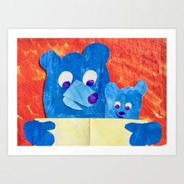 Read to me Art Print